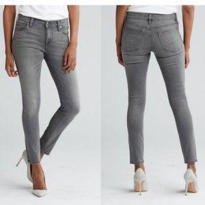 Hudson Krista super skinny gray jeans 31